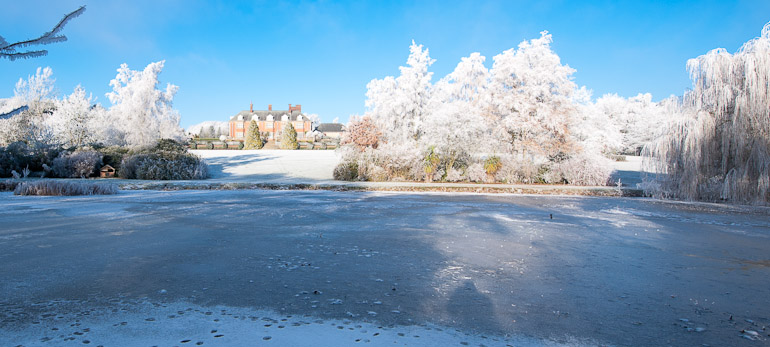 Dunchurch Park Hotel in Winter