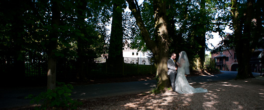 Warwickshire Bride and Groom